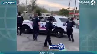 مراهق يهرب من الشرطة بالقوة