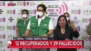Santa Cruz reporta 234 nuevos casos positivos y bordea los 35 mil contagios