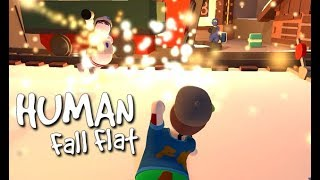 Human Fall Flat - Fireworks Battle [ONLINE]