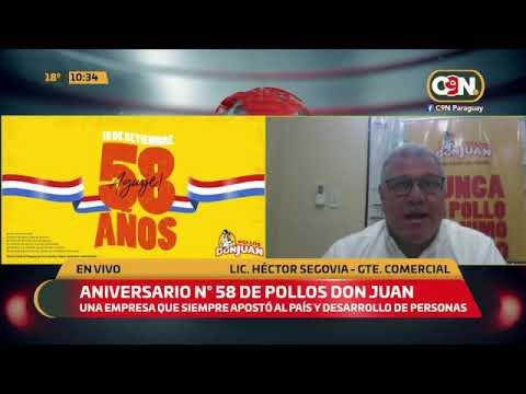 ¡Se viene el aniversario N° 58 de Pollos Don Juan!