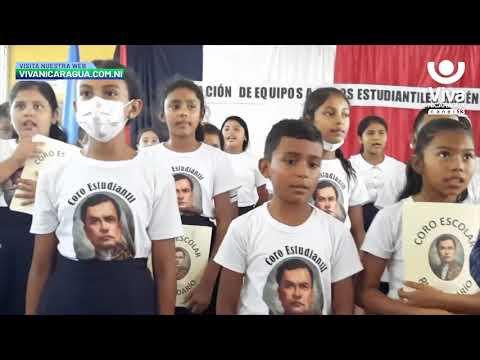 Gobierno Sandinista dota de equipos de audio a coros estudiantiles en Nueva Segovia