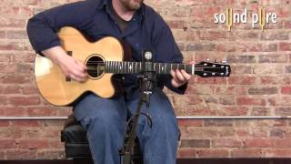 Mojave MA201 FET Microphone Demo -- Acoustic Guitar Video