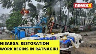 Restoration work begins in Ratnagiri |NewsX - NEWSXLIVE