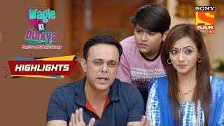 Rajesh Hates Violence | Wagle Ki Duniya | Episode 103 | Highlights - SABTV
