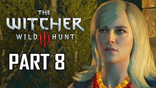 The Witcher 3: Wild Hunt Walkthrough Part 8 - Keira Metz (PS4 Let's Play Gameplay Commentary)