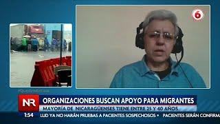 Más de 500 nicaragüenses varados en frontera norte