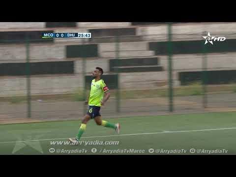 المولودية الوجدية 0-1 الدفاع الحسني الجديدي هدف مصطفى شيشان