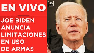 EN VIVO | EEUU: Joe Biden anuncia restricciones al uso de armas