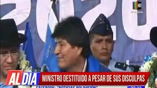 Pese a sus disculpas, Fernando Vázquez fue destituido de su cargo