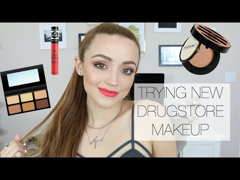 Full Face Using Kokie Cosmetics   Drugstore First Impressions