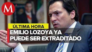 México ya puede extraditar a Emilio Lozoya
