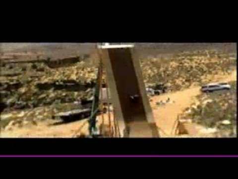"Discovery Channel ""Stunt Junkies"" Bob burnquist Grand Canyon Rail"