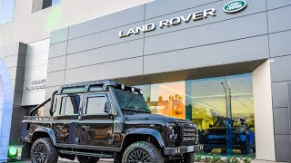 Jaguar Land Rover new showroom