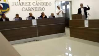 32° SESSÃO DA CÂMARA DE VEREADORES – 25/10/2017 – COMPLETA