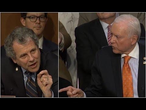 HEATED: Senators Hatch and Brown have FIERY Debate over tax bill