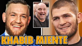 KHABIB no ESTA FUERA de UFC ni RETIRADO del MMA, Conor McGregor NO PELEARA por el TITULO con Poirier