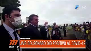Jair Bolsonaro dio positivo al Covid 19