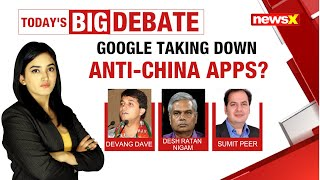 Google taking down Anti-China apps?  NewsX - NEWSXLIVE