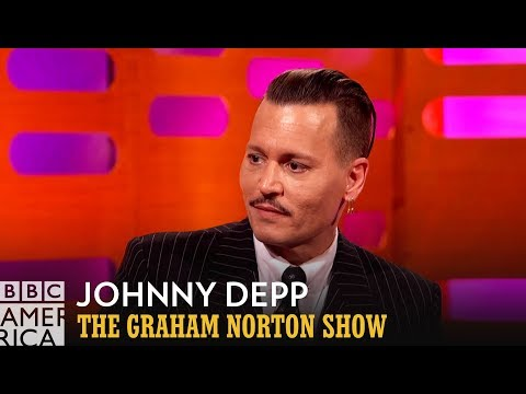 Johnny Depp Failed to Scare People at a Disneyland Ride - The Graham Norton Show