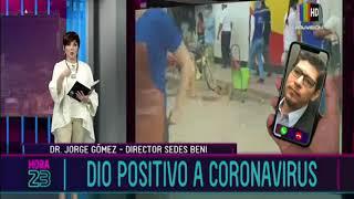 Director del SEDES en el Beni dio positivo a coronavirus