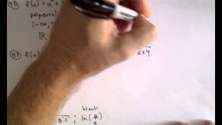 Review Problems for Calculus - Problem 45 - 48