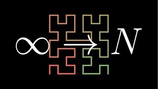 Hilbert's Curve: Is infinite math useful? (Update with improved audio)