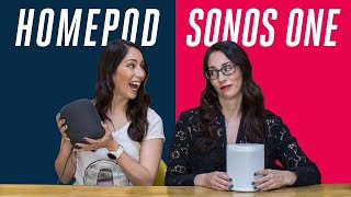 Apple HomePod vs Sonos One