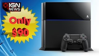 Wal-Mart Tricked into Selling PS4s for $90 - IGN News