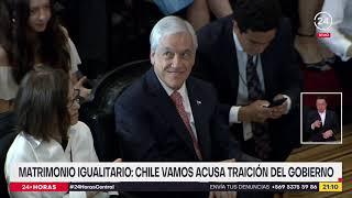 Matrimonio igualitario: Chile Vamos acusa traición del Gobierno