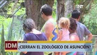 Se instala el debate tras propuesta del cierre del Zoológico de Asunción