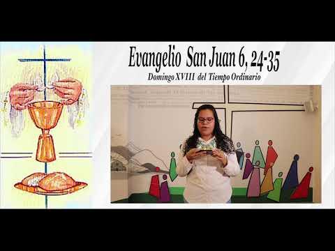 Reflexión Evangelio-Domingo XVIII Tiempo Ordinario- Ciclo B