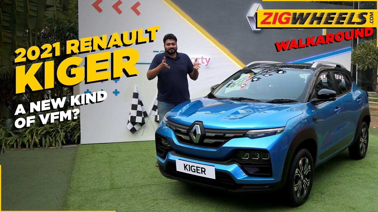 Renault Kiger SUV 2021 Walkaround | Where It's Different | Zigwheels.com