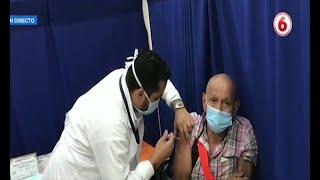 Adulto mayor quiere motivar a otros a vacunarse contra el COVID-19