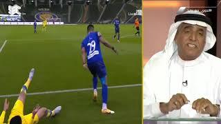 تعليق محمد فودة عن الحالات التحكيمية في مباراة الهلال والنصر