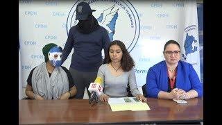 Adolescente de 16 años recibe amenazas por simpatizantes del gobierno