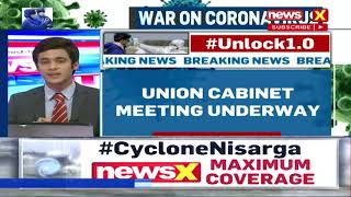 UNION CABINET MEET UNDERWAY |NewsX - NEWSXLIVE