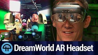 DreamGlass: DreamWorld's $400 2.5K AR Headset