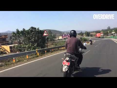 Bajaj Pulsar Adventure Sport (200AS) caught testing in India