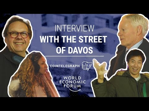 Cryptocurrency on the streets of Davos