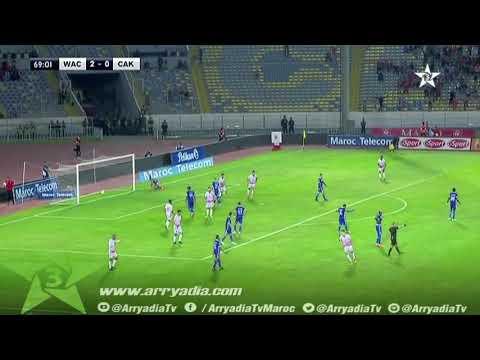 الوداد البيضاوي 3-0 شباب خنيفرة هدف محمد ناهيري