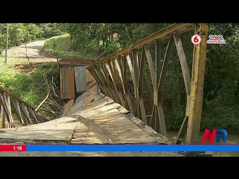 Estudiantes deben dar vuelta de 40 kilómetros por caída de puente