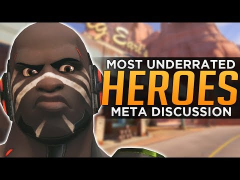 connectYoutube - Overwatch: Most Underrated HEROES! - Meta Discussion