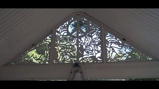 12 Foot Wide CNC'd Window Art