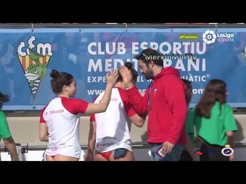 Women's Water Polo Spanish Cup Finals 2018
