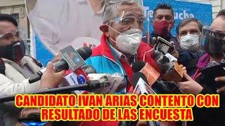 CANDIDATOS A LA ALCALDÍA DE LA PAZ POR LA ALIANZA POLÍTICA SOMOS PUEBLO IVAN ARIAS..