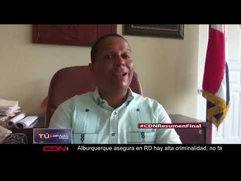 Presidente de Asociación de Distritos Municipales Cibao norte opuesto al desarme de población