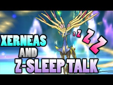 connectYoutube - What Z-Move Does Xerneas Use With Z-Sleep Talk and Nature Power In Pokemon Sun and Moon?