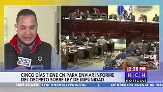 Sala Constitucional pide al CN remitir informe sobre el decreto legislativo 117-2019