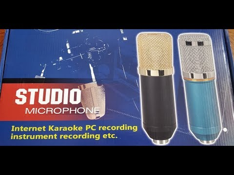 STUDIO MICROPHONE KIT ON DECK! ( Everything you Need In The Box )
