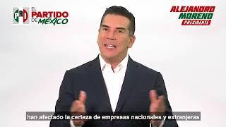 Lo único que ha hecho este gobierno es tomar malas decisiones: Alejandro Moreno, presidente del PRI